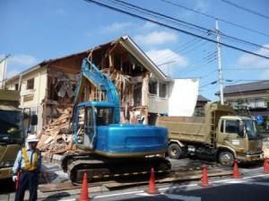 住宅解体工事、アパート解体工事、木造解体工事