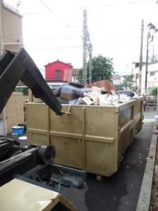 アームロール,不用品処分,産業廃棄物収集運搬