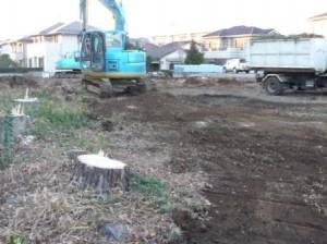 伐採工事,解体工事,春日部市