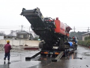 ZR950JC,自走式クラッシャー,再生砕石