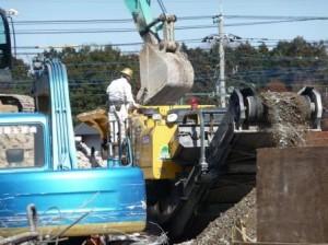 コンクリートガラ破砕,コンクリートガラリサイクル
