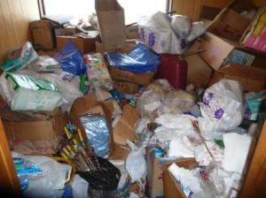 残地ゴミ処分,不用品処分,生活品処分